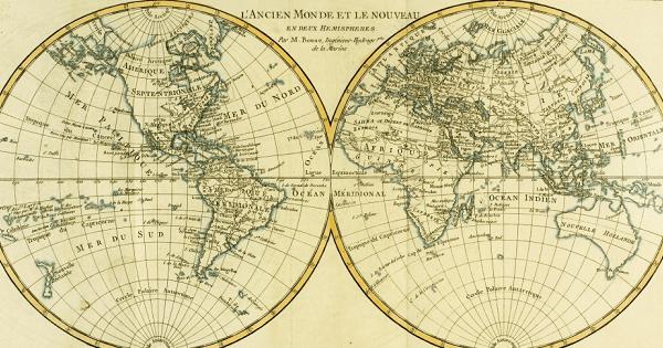 Globo Mappa Mondo