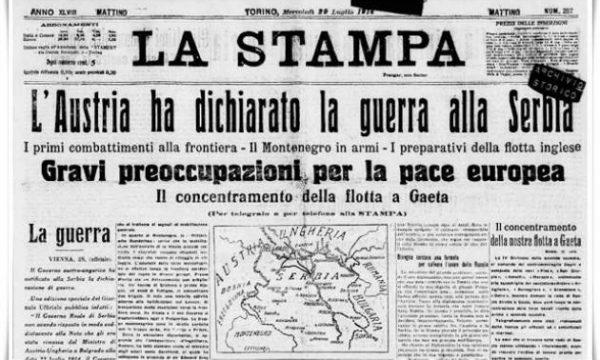 Come scoppiano le guerre – La prima guerra mondiale