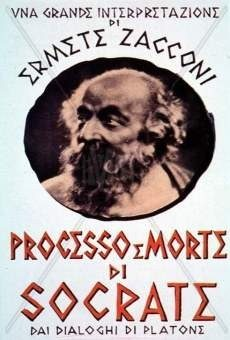 PROCESSO e MORTE di SOCRATE (1939) film con Ermete Zacconi
