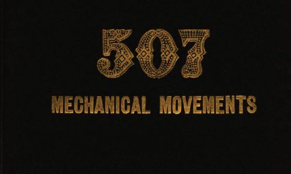 Five hundred and seven mechanical movement – 507 movimenti meccanici [1896] pdf