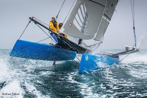 Corso di navigazione 6 di 14 | A bordo di un catamarano sportivo
